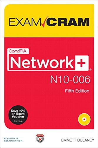 9780789754103: Comptia Network+ N10-006 Exam Cram
