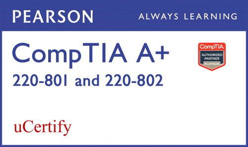 9780789754165: CompTIA A+ 220-801 and 220-802 uCertify Labs Student Access Card (Network Simulator)