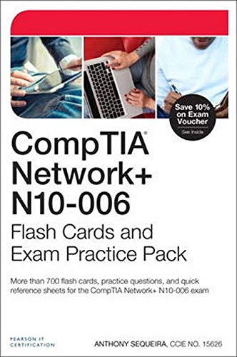9780789754646: Comptia Network+ N10-006 Flash Cards and Exam Practice Pack (Flash Cards and Exam Practice Packs)