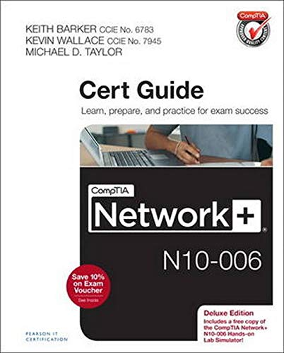 9780789754738: CompTIA Network+ N10-006 Cert Guide