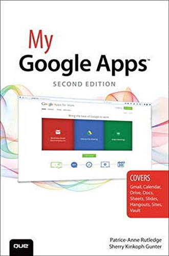 9780789755049: My Google Apps (2nd Edition)