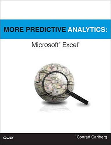 9780789756145: More Predictive Analytics: Microsoft Excel