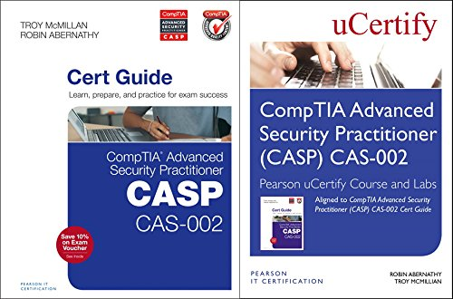 9780789757296: CompTIA Advanced Security Practitioner (CASP) CAS-002 Cert Guide, Pearson uCertify Course and uCertify Labs Bundle