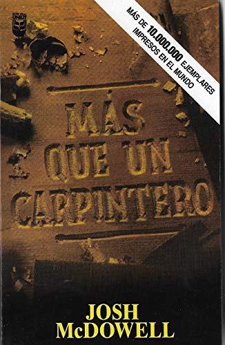 9780789903563: Más que un Carpintero
