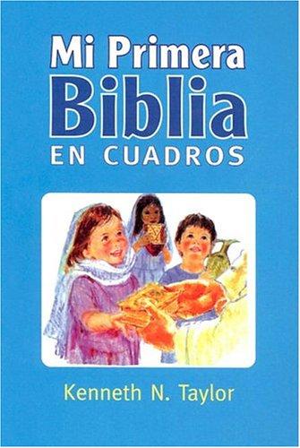 9780789905741: Mi Primera Biblia En Cuadros Azul: My First Bible in Pictures Blue