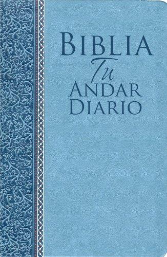 9780789917768: Biblia Tu Andar Diario Piel ESP. Color Azul Marino: Your Daily Walk Bible Bonded Leather Navy Blue