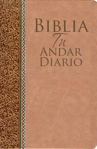 9780789917775: Biblia Tu Andar Diario-Piel Especial-Almendra