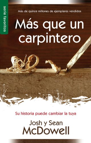 9780789918321: MS Que Un Carpintero Nueva Edicin: More Than a Carpenter New Edition