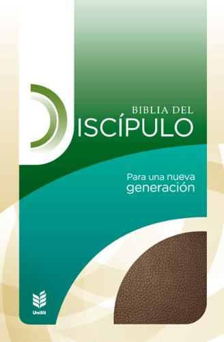 9780789920003: Biblia del Discipulo Piel ESP. Caf': Disciple Bible Bonded Leather Brown (Spanish Edition)