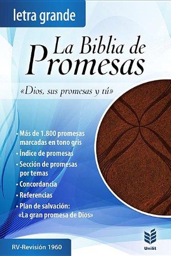 9780789920935: Biblia de Promesas Letra Grande-Rvr 1960 (Spanish Edition)
