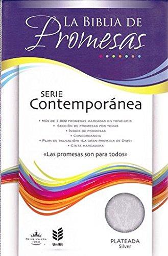 9780789921611: Biblia de Promesas RVR60 Contemporánea - color plateada (tamaño manual) con concordancia