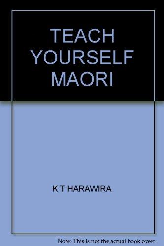 9780790000527: Teach Yourself Maori