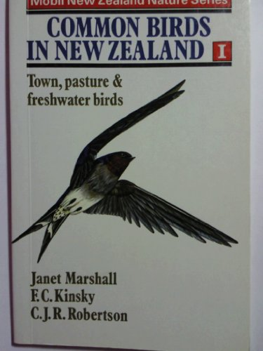 Common Birds in New Zealand (Town, Pasture: Janet Marshall, F.C.