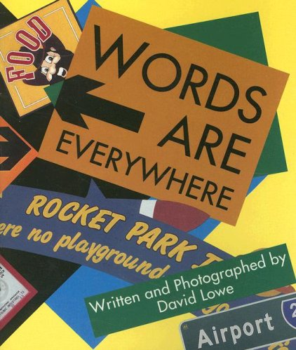 9780790106168: Words Are Everywhere (Literacy 2000 Satellites: Stage 3)