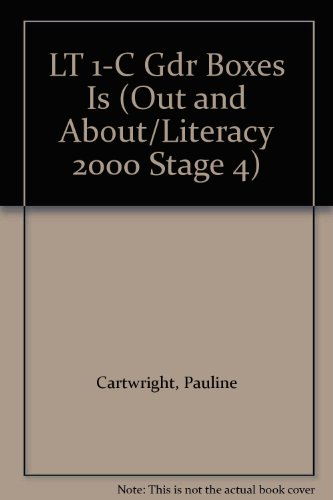 9780790112053: LT 1-C Gdr Boxes Is (Out and About/Literacy 2000 Stage 4)
