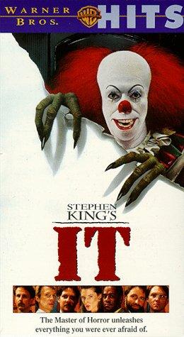 IT 8-TRACK VHS VIDEO HORROR MOVIE: King, Stephen