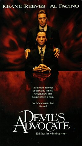 9780790736525: The Devil's Advocate [VHS]