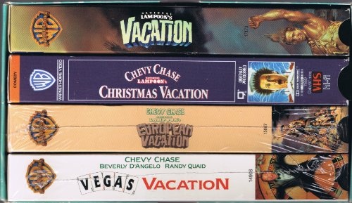 9780790736761: Vacation Film Pack (4) [VHS]