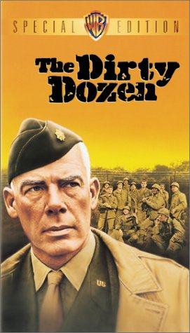 The Dirty Dozen-VHS Movie: Warner Home Video