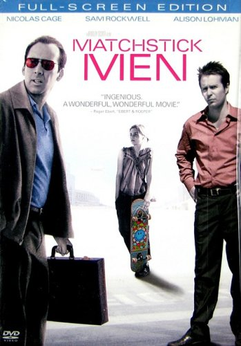 9780790778211: Matchstick Men (Full Screen Edition) (Snap Case)