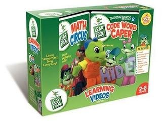 9780790799575: Leap Frog - Math Circus/Talking Words Factory 2 - Code Word Caper