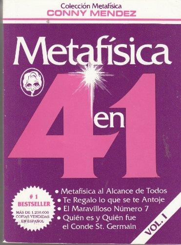 """9780790920634: Metafisica 4 en 1 (Volumen I: """"Metafisica al Alcance de Todos"""", """"Te Regalo lo que se te Antoje"""", """"El Maravilloso Némero 7"""", """"Quién es y Quién fue el Conde St. Germain"""")"""