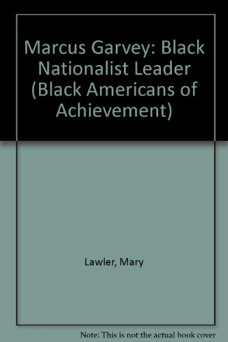 9780791002032: Marcus Garvey (Black Americans of Achievement)