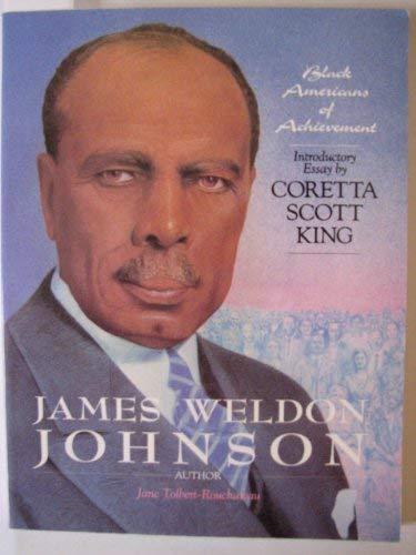 James Weldon Johnson (Black Americans of Achievement): Toolbert, Jane