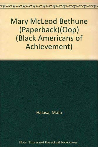 9780791002254: Mary McLeod Bethune (Paperbck)(Oop) (Black Americans of Achievement)