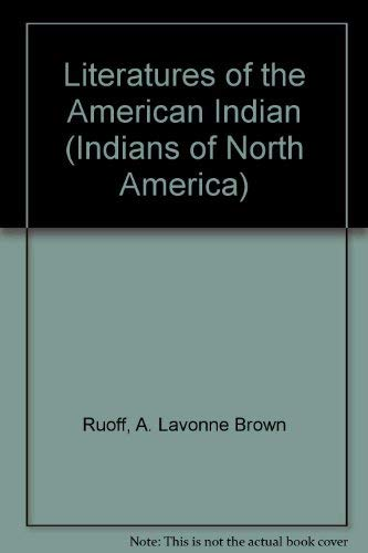 Literatures of the American Indian (Indians of North America)