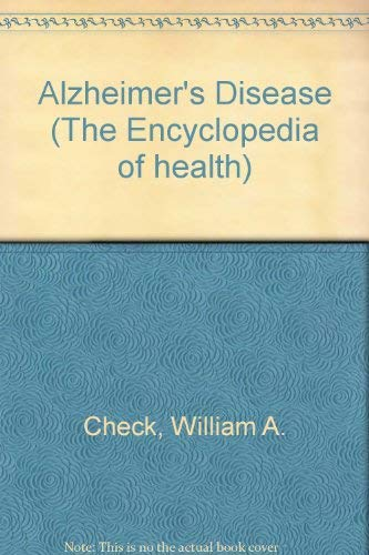 9780791004838: Alzheimer's Disease (THE ENCYCLOPEDIA OF HEALTH)