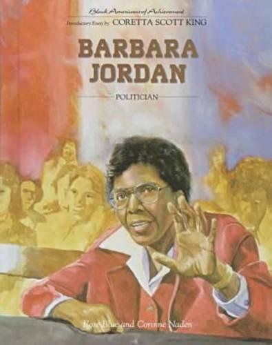 9780791011317: Barbara Jordan (Black Americans of Achievement)