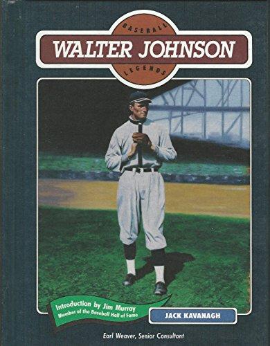 9780791011799: Walter Johnson (Baseball Legends)