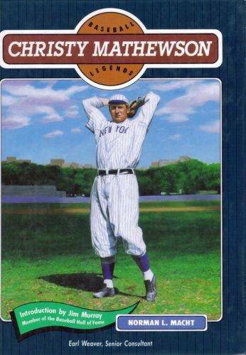 9780791011829: Christy Mathewson (Baseball Legends)
