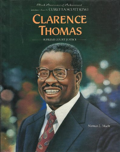 9780791018835: Clarence Thomas: Supreme Court Justice (Black Americans of Achievement)