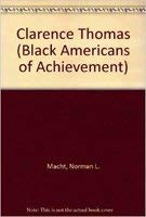 9780791019122: Clarence Thomas (Black Americans of Achievement)