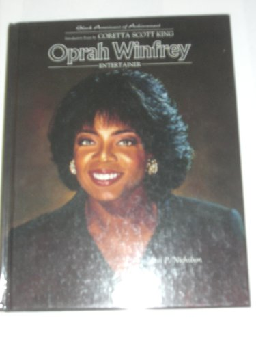 9780791019153: Oprah Winfrey (Baa) (Pbk)(Oop) (Black Americans of Achievement)