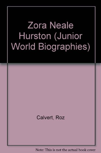 9780791019627: Zora Neale Hurston (Junior World Biographies)