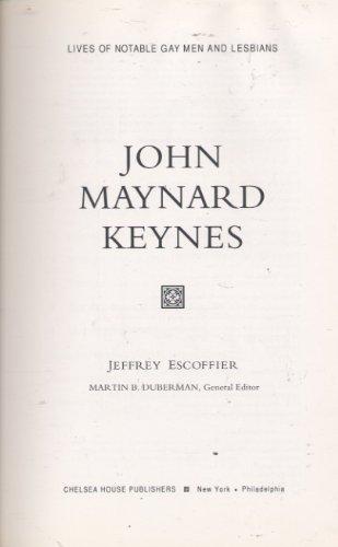 9780791028605: John Maynard Keynes (Notable Biographies)