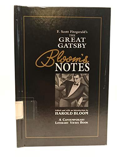 Great Gatsby (Bloom's Notes): Scott Fitzgerald, F.
