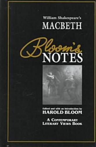 Macbeth (Bloom's Notes) (Oop): Shakespeare, William