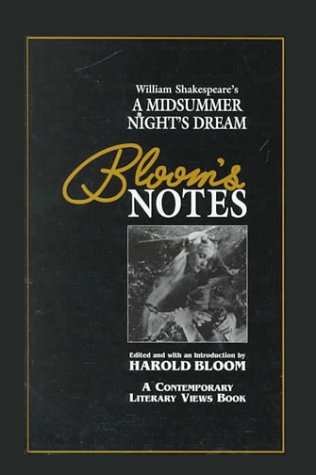 William Shakespeare's a Midsummer Night's Dream (Bloom's: William Shakespeare