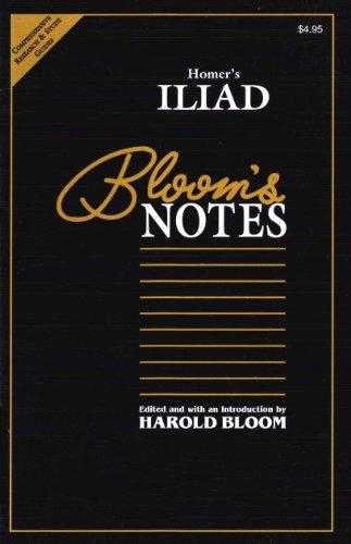 9780791040904: Homer's Iliad: Bloom's Notes
