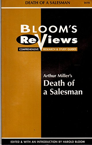 9780791041185: Bloom's Reviews: Comprehensive Research Study Guide/Arthur Miller's Death of a Salesman