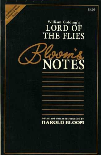 William Golding's Lord of the Flies (Bloom's: See Editorial Dept