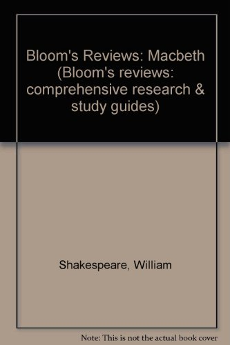 9780791041369: William Shakespeare's Macbeth (Bloom's Reviews : Comprehensive Research & Study Guides)