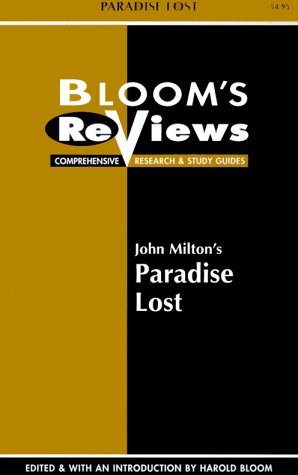 9780791041468: John Milton's Paradise Lost (Bloom's Reviews)