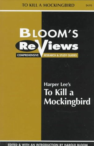 9780791041680: Harper Lee's to Kill a Mockingbird (Bloom's Notes)