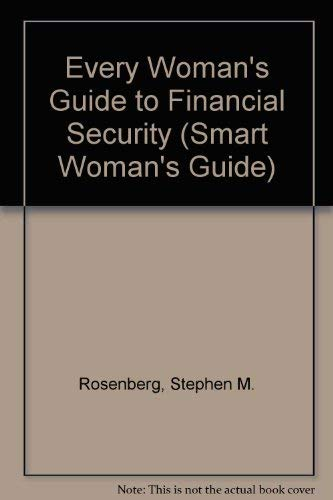9780791044490: Every Woman's Guide to Financial Security (Smart Woman's Guide)