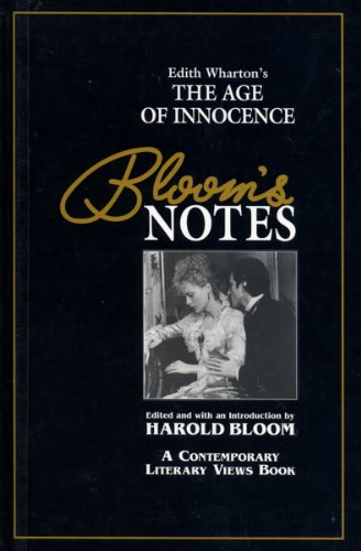 9780791045152: The Age of Innocence (Bloom's Notes)